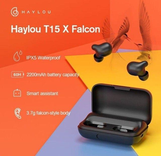 Fone bluetooth Haylou T15 Falcom