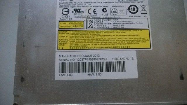 Drive CD/DVD Para Notebook - Foto 2