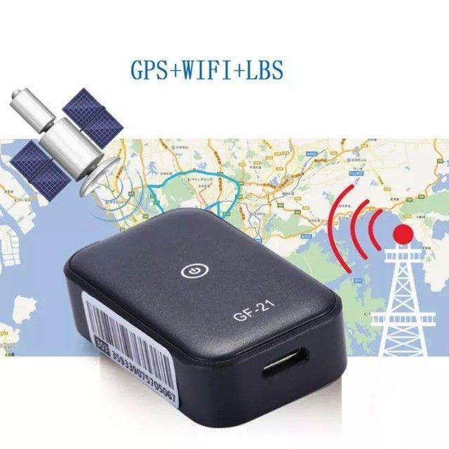 Mini Rastreador Portátil Gf 21 Gf-21 Pessoa Carro Animal GPS - Foto 3