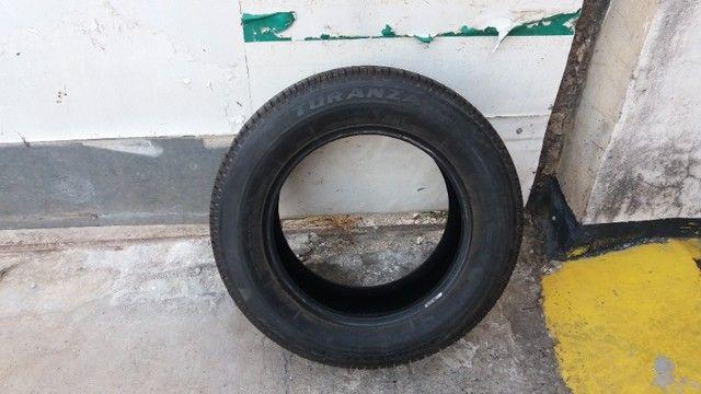 1 pneu semi novo - Foto 2