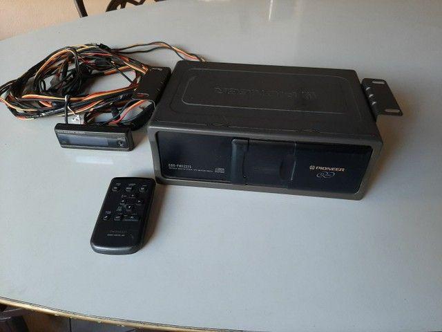 Disqueteira 12 cd Pioneer com controle - Foto 4