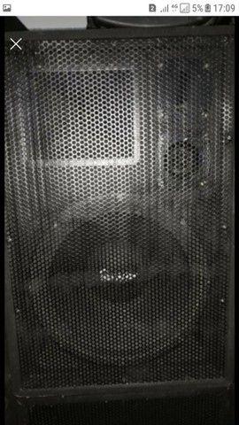 4 gabinetes caixas de som vazias