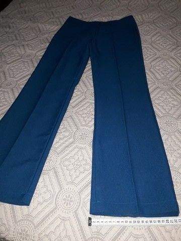 Conjunto azul, calça e blusa - Foto 5