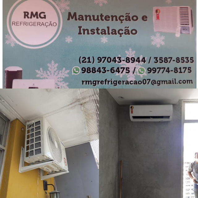 Instalação e Manutenção de ar condicionado Split e  ar condicionado de janela.  - Foto 4