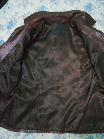 Jaqueta de couro legítimo importada. - Foto 4