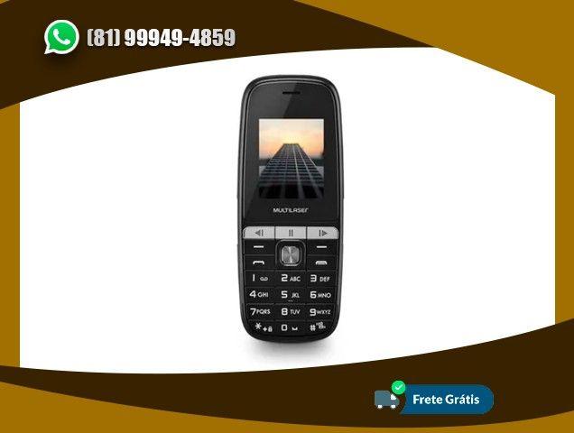 Celular Multilaser Up Play Dual Chip Mp3 Com Câmera Preto - P9076