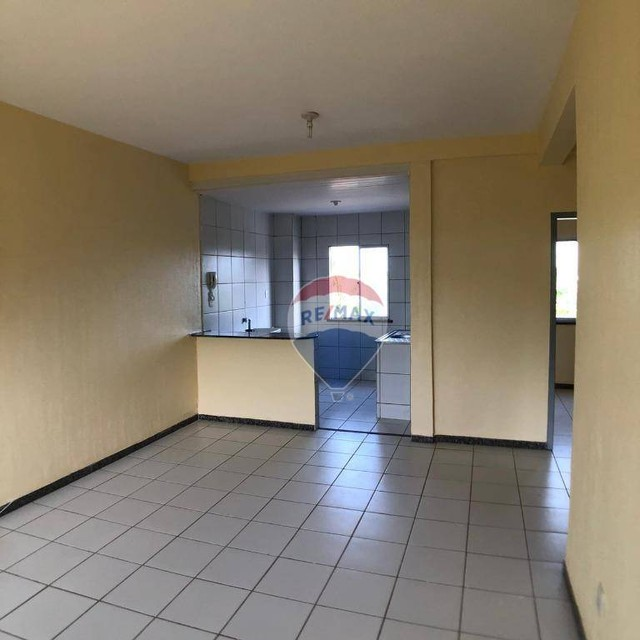 Apartamento com 2 dormitórios para alugar, 46 m² por R$ 750,00/mês - Edson Queiroz - Forta - Foto 5