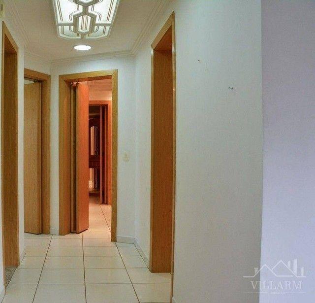 Apartamento com 4 dormitórios para alugar, 196 m² por R$ 5.700,00/mês - Vila Santo Estéfan - Foto 5