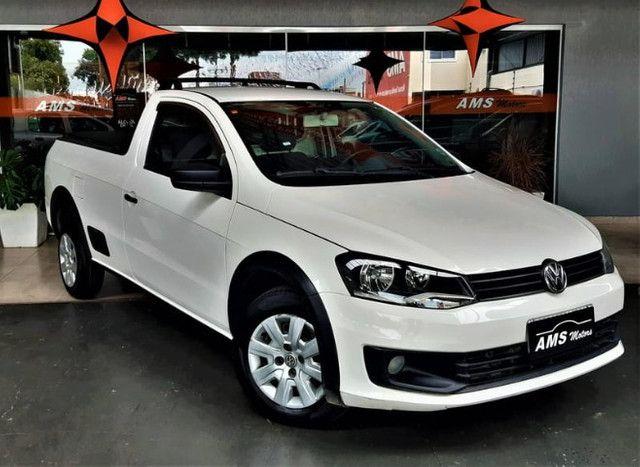 Volkswagen saveiro 1.6 CS Tl Flex 2015 - Foto 4
