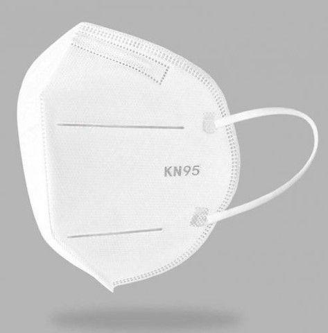 Máscaras Pff2 N95 Ksn Proteção Anvisa Inmetro Hospitalar Única Recomendada 5 Unidades  - Foto 3