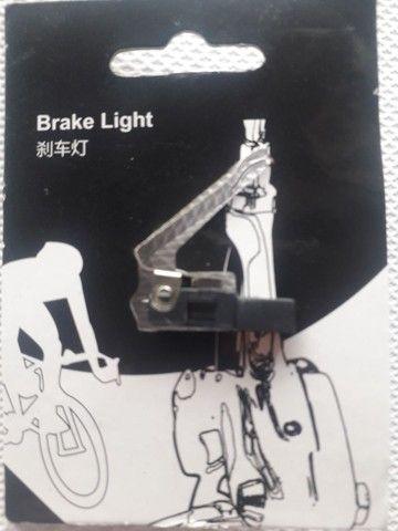Brake Light, luz de freio bicicleta