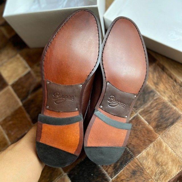 Sapato Social Derby Justin Brown 41 - Foto 6