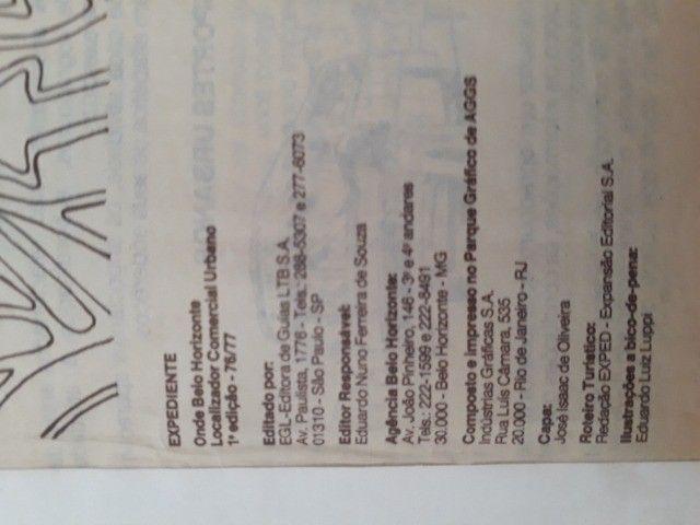 Catálogo Telefônico BH- Edição 76/77 - *Preço Negociável- Não aceito troca - Foto 3