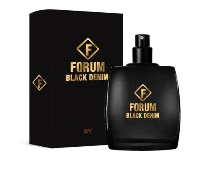 Perfume Forum Black Denim Compartilhado 50ml - Água de Cheiro Sorocaba