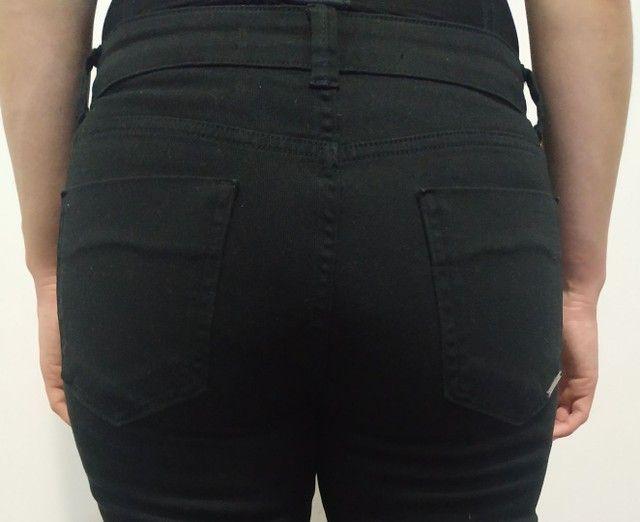 Calça preta jeans - Foto 4