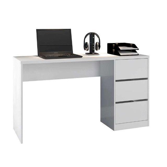Ofertas Fire - Mesa para Computador/Not 3 Gavetas R$269,00
