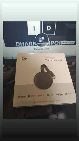 Chromecast geração 3 original e lacrado. - Foto 2