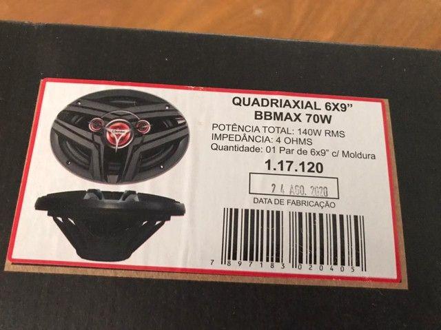 Auto falantes 6x9 Bomber  70w - Foto 3