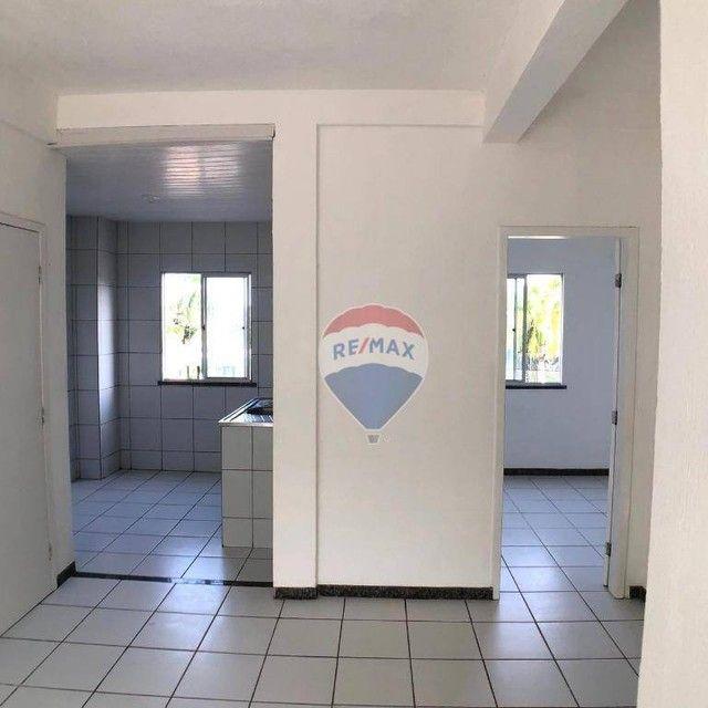 Apartamento com 2 dormitórios para alugar, 51 m² por R$ 820,00/mês - Edson Queiroz - Forta - Foto 5