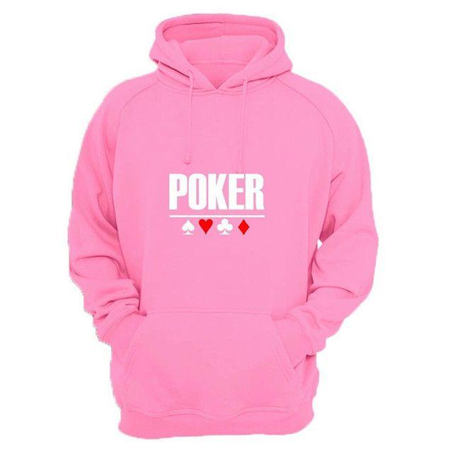 Moletom canguru com estampa Poker - Foto 2
