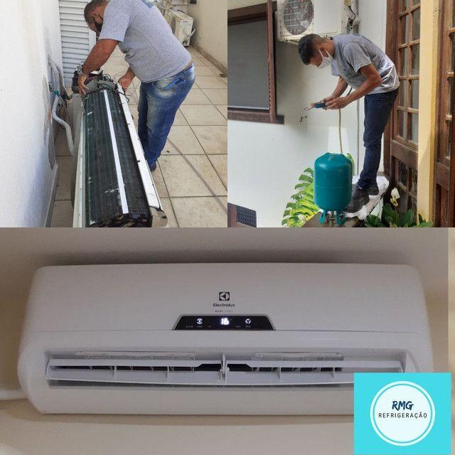 Instalação e Manutenção de ar condicionado Split e  ar condicionado de janela.