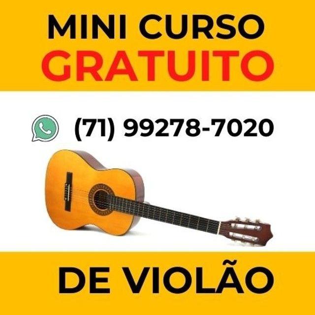 (gratuito)  Curso de violão