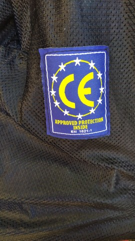 jaqueta de motociclista com proteção - Foto 6