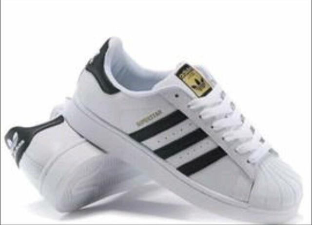 sale tenis adidas superstar branco e preto e67a7 7c0d3