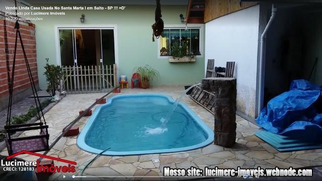 Vendo Casa Usada no Valor de R$ 320.000 - No Santa Marta / Aceita Financiamento