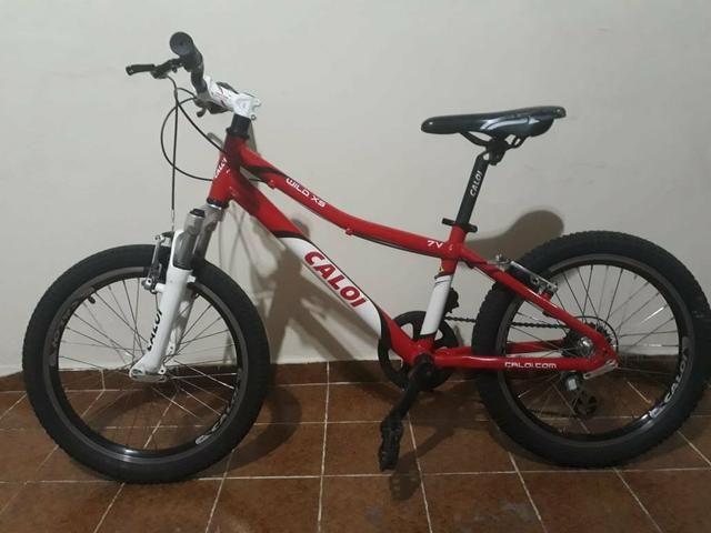 Bicicleta Caloi wild XS Aro 20 7 Marchas - Foto 3