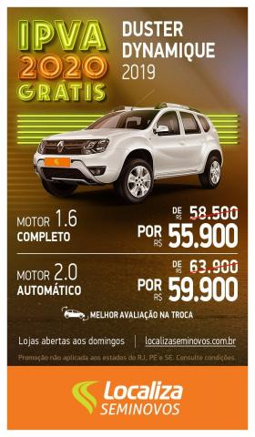 RENAULT DUSTER 2018/2019 1.6 16V SCE FLEX DYNAMIQUE MANUAL