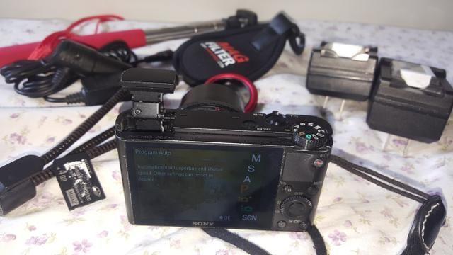 Câmera Sony Rx100 I [carregador/bateria, Polarizador, Tripé, MemoryCard] - Foto 6