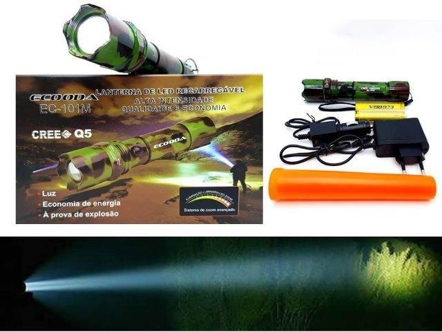 Promoção super Lanterna Tática Swat 300 metros 2 baterias (entrega grátis) - Foto 2