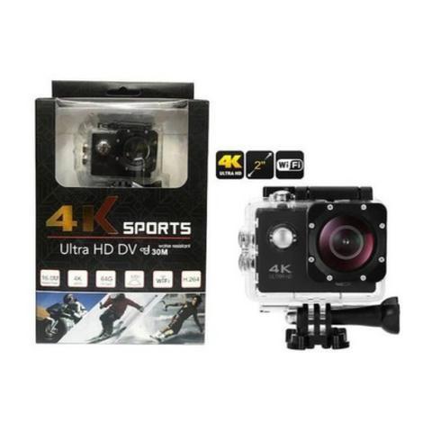 Câmera de Ação 4K Sports Ultra HD DV com pacote de acessórios!!