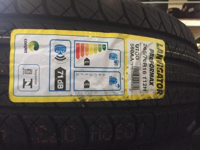 Jogo de pneus 205/45/17 em 8x nos cartões sem 174,00 os 4 - Foto 3