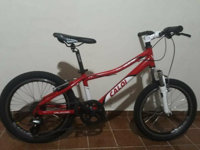 Bicicleta Caloi wild XS Aro 20 7 Marchas - Foto 5