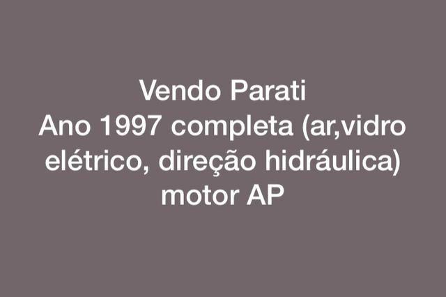 Vendo Parati 1997 completa motor 1.6 ap - Foto 6
