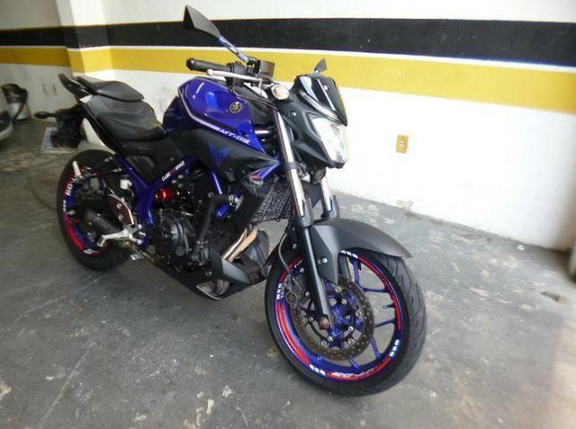 Moto mt 03 321 abs 2018/2019 azul