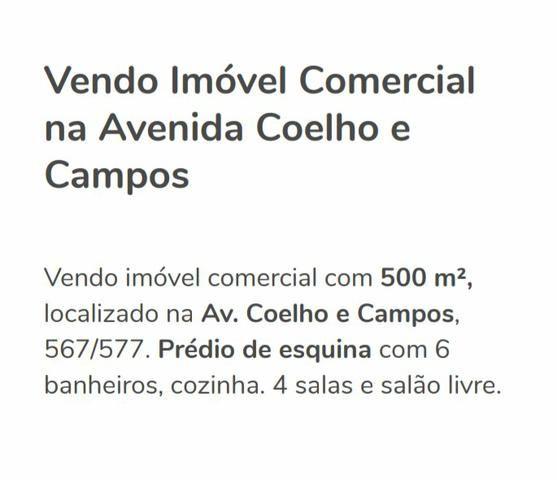 Vendo Excelente Ponto Comercial localizado na Av Coelho Campos já Alugado R$1.000.000,00 - Foto 2