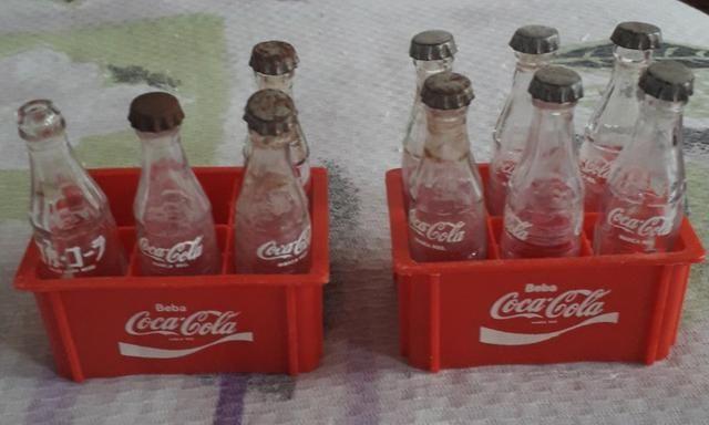 Garrafinhas Coca-Cola