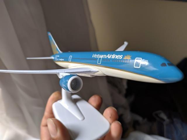 Miniatura boeing 787 - Foto 3