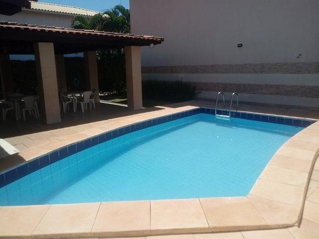 Casa de condominio para locação perto do farol de itapua, 3/4 suite, piscina, nascente - Foto 19