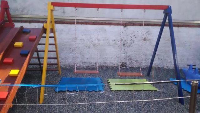 Parquinhos de madeira em Promoção