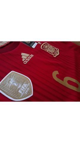 Camisa Adidas Espanha 2014 - Roupas e calçados - Santa Maria b280aeedc0a8f