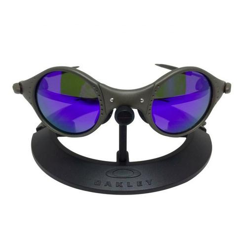 1c49a2df74942 Oculos Oakley Mars cinza lente roxa - Bijouterias, relógios e ...