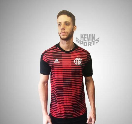 Camisa Original Pré Jogo RN 2018 Flamengo Adidas - Roupas e calçados ... c82489fc4b3b2
