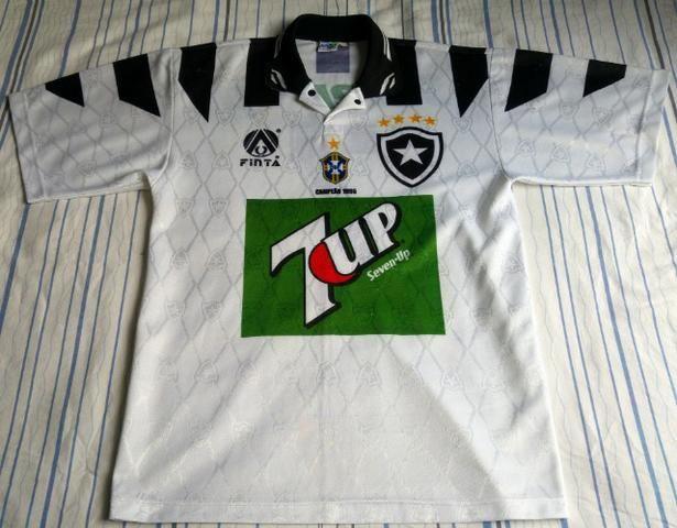 6f60b46ec58a3 Camisa  7 - Botafogo 1995 Branca original (tamanho M) para colecionador