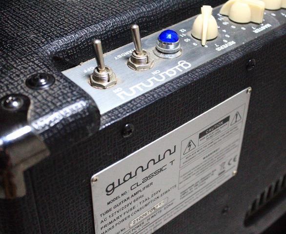 Amplificador Giannini Classic T (20w valvulado) - Foto 3