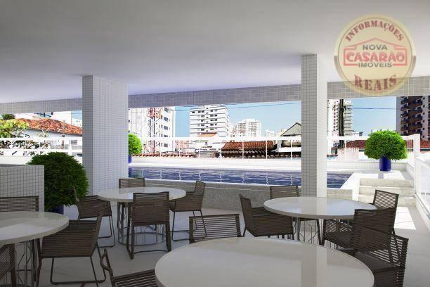 Apartamento com 2 dormitórios à venda, 72 m² por R$ 362.373 - Cidade Ocian - Praia Grande/ - Foto 20