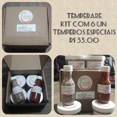 Kit De Temperos Especiais - Temperare